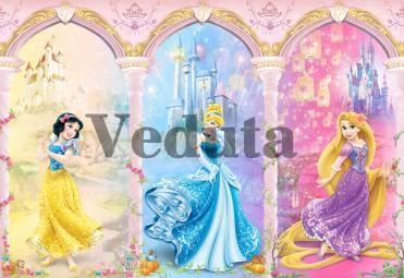Фотообои, фреска Три принцессы, арт. 9662