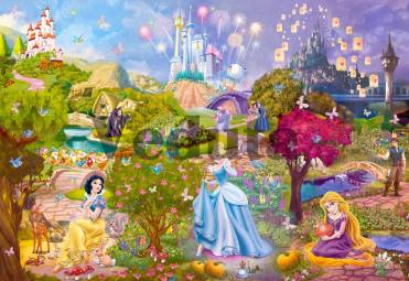Фотообои, фреска Замки принцесс, арт. 9675