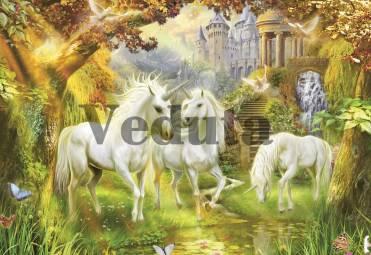 Фотообои, фреска Сказочные единороги, арт. ID13357
