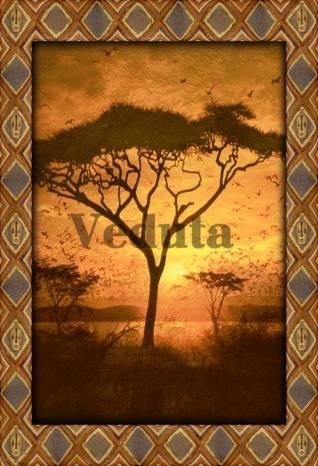 Фотообои, фреска Африканское дерево, арт. 4750