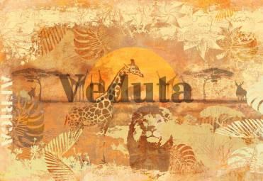 Фотообои, фреска Африка коллаж, арт. 7113