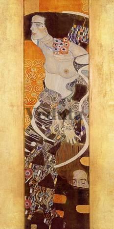 Фотообои, фреска Юдифь Густав Климт, арт. 3287