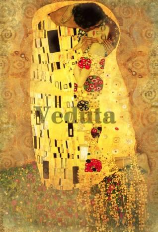 Фотообои, фреска Поцелуй, арт. 3288