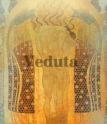 Фотообои, фреска Золотое таро, арт. 3290