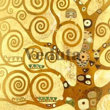 Фотообои, фреска Фрагмент дерева Климт, арт. 3292