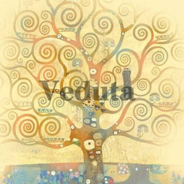 Фотообои, фреска Дерево жизни Климт, арт. 3293