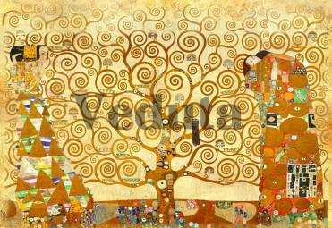 Фотообои, фреска Дерево любви, арт. 3297