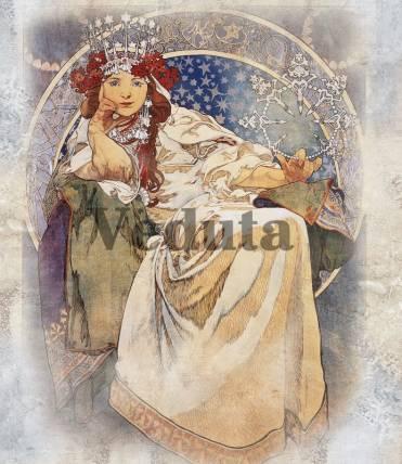 Фотообои, фреска Принцесса Гиацинт, арт. 3303