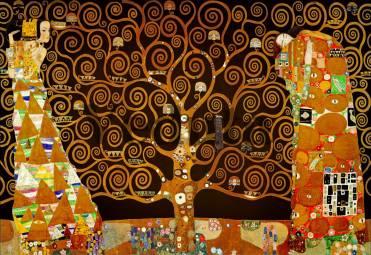 Фотообои, фреска Дерево любви, арт. 3382