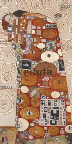 Фотообои, фреска Объятья Густав Климт, арт. 3399