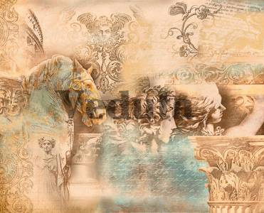 Фотообои, фреска Античные образы, арт. 3409