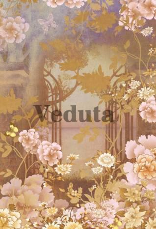 Фотообои, фреска Цветочный сюжет, арт. 7130