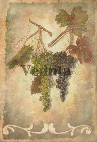 Фотообои, фреска Грозди винограда, арт. 2086