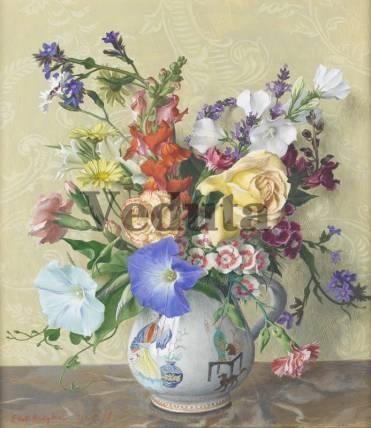 Фотообои, фреска Цветочная ваза, арт. 2186