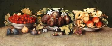 Фотообои, фреска Тарелка с инжиром, арт. 2253