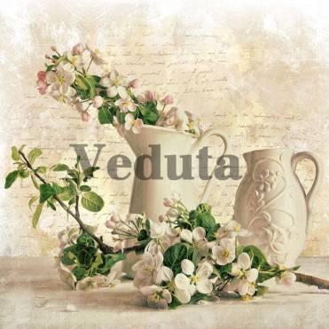 Фотообои, фреска Цветы в кувшине, арт. 2259