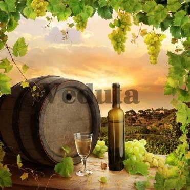 Фотообои, фреска Дегустация вина, арт. ID12039