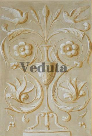Фотообои, фреска Классический барельеф, арт. 5155