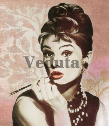 Фотообои, фреска Актриса Одри Хепберн, арт. A0115
