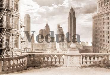 Фотообои, фреска Старинный Нью Йорк, арт. 7103