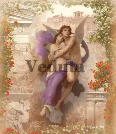 Фотообои, фреска В объятьях ангела, арт. 3340