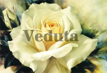 Фотообои, фреска Чайная роза, арт. 2167