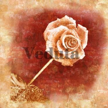Фотообои, фреска Ветка розы, арт. 7048