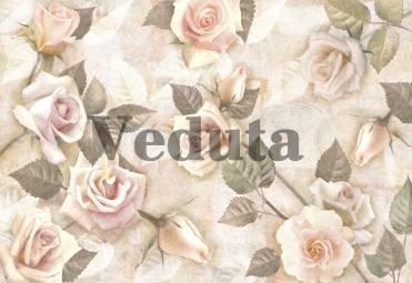 Фотообои, фреска Цветки розы, арт. 7059