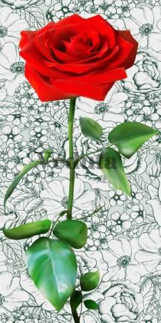Фотообои, фреска Цветок роза, арт. 7184