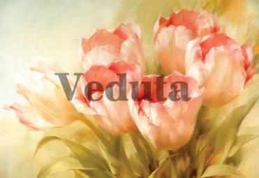 Фотообои, фреска Нежные тюльпаны, арт. 2168