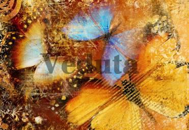 Фотообои, фреска Композиция с бабочкой, арт. ID10137
