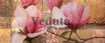Фотообои, фреска Цветы магнолии, арт. 7040