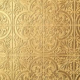 Обои, панно Объемный орнамент, арт. FabriKa19/53-13 gold