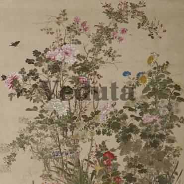 Фотообои, фреска Цветочный куст, арт. ID135682
