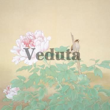 Фотообои, фреска Цветок птица на ветке, арт. ID135683
