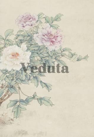 Фотообои, фреска Ветка с цветами, арт. ID135693