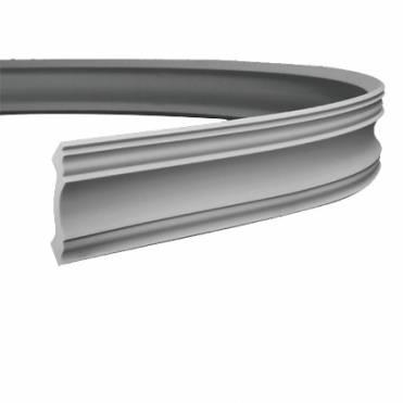 Карниз гибкий Европласт 150113 из полиуретана
