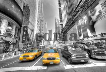 Фотообои, фреска Автомобили в большом городе, арт. ID10324