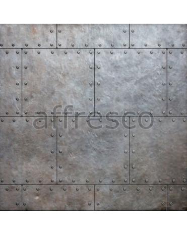 Фотообои, фреска Металлическая арт стена, арт. ID135619