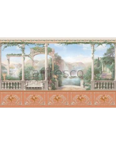 Обои, панно Альпийское озеро, арт. aff 735 vel 464