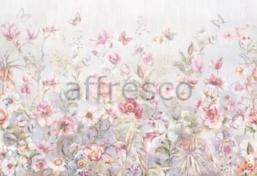 Обои, панно Акварельные узоры, арт. aff 728 vel 459