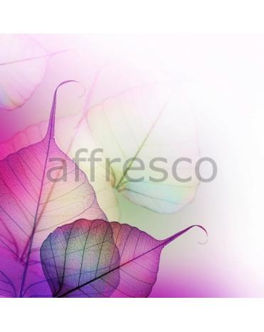 Фотообои, фреска Яркие листья, арт. ID12667