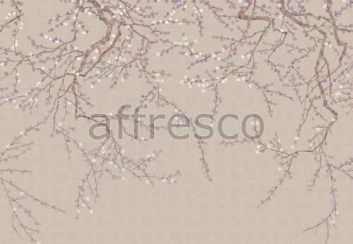 Обои, панно Акварельные веточки, арт. aff 704 vel 441