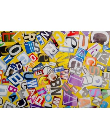 Фотообои, фреска Стрит-арт буквы, арт. ID135646