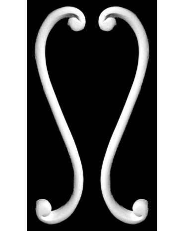 Волюта Pearlworks SCR-400B из гипса