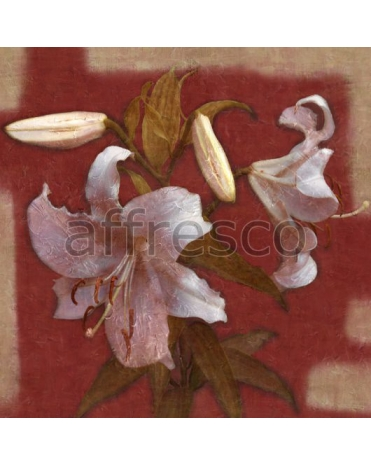 Фотообои, фреска Ветка лилии, арт. ID135573