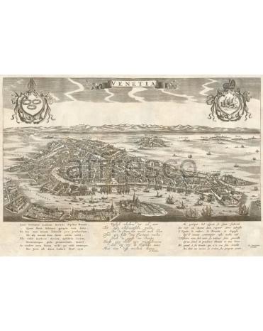 Фотообои, фреска Древняя карта, арт. 0065