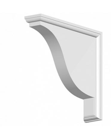 Полка из дюрополимера для фасадного декора FC01