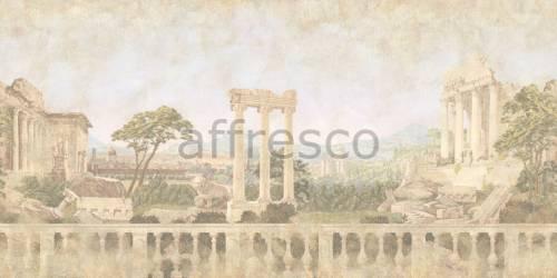 Обои, панно Античный пейзаж с развалинами, арт. 7004