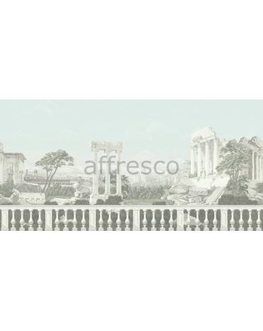Обои, панно Античный пейзаж с колоннами, арт. 7002